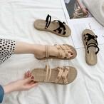 【shoes】新作ファッション合わせやすい星カジュアルサンダル