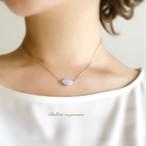 charme(魔法の薬) * 月の光を宿したレインボームーンストーンのネックレス -silver-