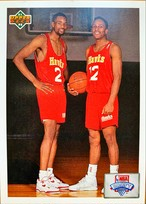 NBAカード 91-92UPPERDECK DRAFT CHECKLIST #1