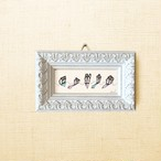 ミニ額 原画【 けはい 】mini mini frame ver.