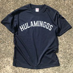 HULAMINGOS  COLLAGE LOGO T-SHIRTS NAVY