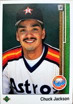 MLBカード 89UPPERDECK Chuck Jackson #323 ASTROS