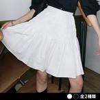 シンプルシャーリングスカート(全2色) / HWG301