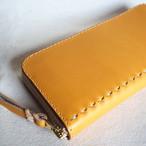 コの字ファスナーの定番長財布 / wallet イエロー