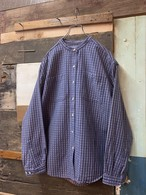 80's L.L.Bean womens stand collar shirt
