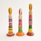 はりまや木地玩具「ウサギの笛」