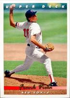 MLBカード 93UPPERDECK Frank Viola #131 RED SOX