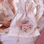 Rose embroidery ___ bag