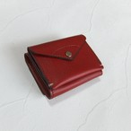 【受注生産】3つ折り財布 Red