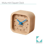 KATOMOKU muku mini square clock km-25青