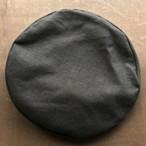 Big Beret -Linen- black