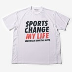 MMA Sports Change My Life Big Tee (White)