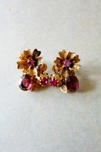 50s vintage earrings made in austria