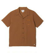 CRIMIE / CR1-02A1-SS04 / SCALE EMBROIDERY EASY CARE SHORT SLEEVE SHIRT