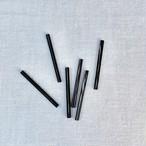 竹ビーズ(ブラック30mm)6p