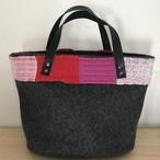 【コラボ商品】さをり織り×ウールのトートバッグ