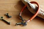 キーホルダー warawara/B ワラワラ/ブラウン