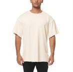完売御礼【ASRV】フレンチテリー オーバーサイズTシャツ - Ivory Cream