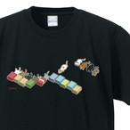 猫ズサー Tシャツ(黒)