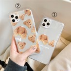 【オーダー商品】Bear iphone case