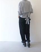 バックリボン ストライプシャツ / MARECHAL TERRE