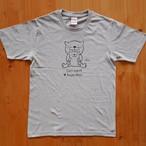 にゃんきーとすTシャツ「おやこねこ」ミックスグレー