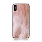 Smart Jewel-Crystal Smart Phone Case-Fluffy-Flamingo