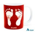 ai mug   A-type (RED) QRコード付き