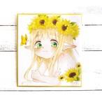 【ちょめ子】夏の妖精/イラスト原画