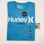 HURLEY Tシャツ  メンズS ライトブルー