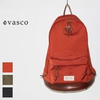 vasco ナイロンクロスレザーオールドデイパック NYLONCROSS×LEATHER OLD DAYPACK VSE-202 (ORANGE RED)