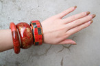 Red bangle 【Haku & ichimatsu】