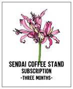 コーヒー豆定期便 3ヶ月コース