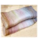 miniB11)手紡ぎ毛糸用ブレンド羊毛 バッツ大人の女シリーズ1)