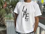6/13 21時発売! LIFE is life ロゴtシャツ (White)¥2990+tax