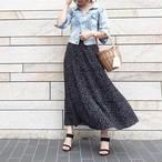 【5月16日20:00~予約販売】ドットプリーツスカート