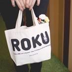 【ロク】ミニキャンバストート「ROKU」