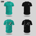 CIELE  シエル MENS NSB TShirt – Running Man メンズ NSB Tシャツ ランニングマン 5041911【Tシャツ】