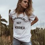 Warrior Not Worrier Clark Tee