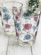 《 晩酌グラスで人気 》 バラ グラスコップ〈モダン〉 /FiloRosso