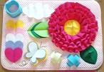 ノーズワークマット(フリルなお花)