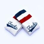 MOSHPIT Collaboration Socks【blue×red】