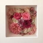 ◆オーダーメイド彫刻◆受注制作◆ ボックスアレンジメント ウッドスタンド