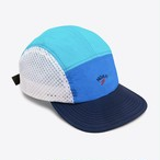 Tri-Color Runners Cap(Light Blue)