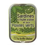 フランス・ブルターニュの港町で作られた高級オイルサーディン グリーンペッパー風味【高級食材・高級缶詰】