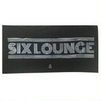 SIX LOUNGE バスタオル ブラック