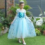 3522子供ドレス キッズ ベビー ジュニア 女の子ドレス フォーマルドレス プリンセス アナと雪の女王 エルサ エルザ ELSA