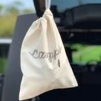 CAMPS 巾着袋【ロープロゴ】