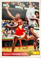 NBAカード 92-93UPPERDECK Rumeal Robinson #150 HAWKS