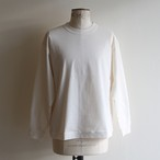 STILL BY HAND【 mens 】sweat like long sleeve tee